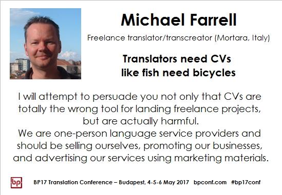 BP17 Translation Conference, Budapest, Hungary